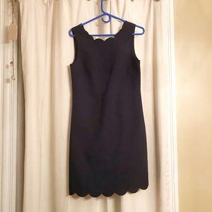J. Crew Scalloped Dress